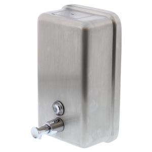 Vertical Stainless Steel Soap Dispenser 1000ml (each)