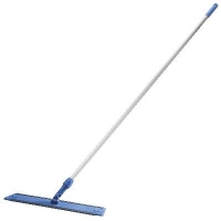 Oates Microfibre Flat Mop Handled Blue 600mm (each)