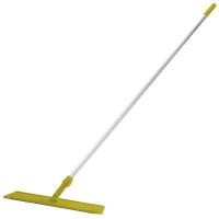 Oates Microfibre Flat Mop Handled Yellow 600mm (each)