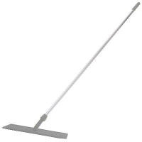 Oates Microfibre Flat Mop Handled White 600mm (each)