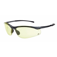 Bolle Contour Amber Anti Fog Safety Glasses (1 pair)