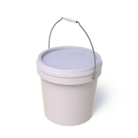 White Pail With Lid 5L/kg (each)