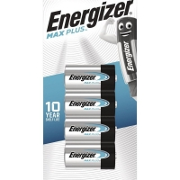 Energizer MAX Plus C Batteries (4/Pack)