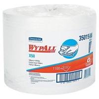 Kleenex Wypall X50 Large White Wipes 49cm x 70m Roll (3/ctn)