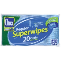 Chux Wipes 60cm x 30cm (20/pack)