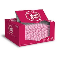Veora Non Woven Wipes Red 30cm x 50cm (40/dispenser box)