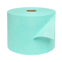 Durelle Jumbo Green Perforated (30 x 50cm) Wipes 500m (1000 sheets/roll)