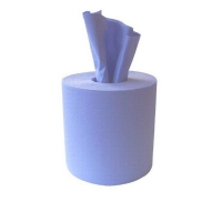 Durelle Blue Multipurpose Centrefeed Wiper 20.5cm x32.5cm 250sheets/roll (4rolls