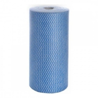Durelle Eco Perforated (30 x 50cm) Wipes Blue 45m 90 sheets/roll (each)