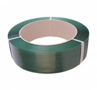 Polyester (PET) Strapping Embossed Green 16mm x 0.9mm x 1300m (1 Roll)