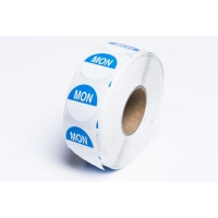 Day Dot Label Monday Freezer Grade 24mm (700/roll)