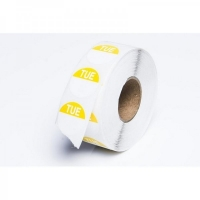 Day Dot Label Tuesday Freezer Grade 24mm (700/roll)