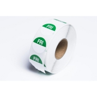 Day Dot Label Friday Freezer Grade 24mm (700/roll)