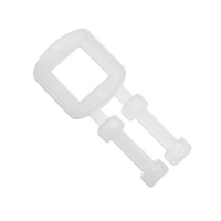 Polypropylene Strapping Plastic Buckles 15mm (1,000/pack)