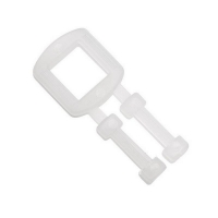 Polypropylene Strapping Plastic Buckles 19mm (1,000/pack)
