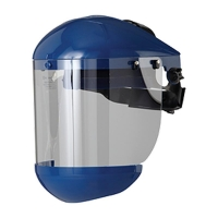 Full Face Shield Adjustable - Clear (each)