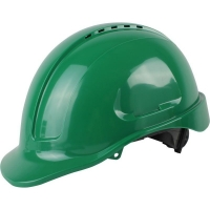 Vented Hard Hat Sliplock Harness Green (each)