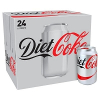 Diet Coke Cans 375ml (24/pack)