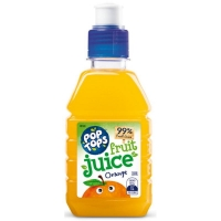 Pop Top Orange Juice 250ml (24/pack)