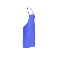 PVC Reusable Apron 90cm (W) x 120cm (L) Blue (each)