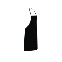 PVC Reusable Apron 90cm (W) x 120cm (L)Black (each)