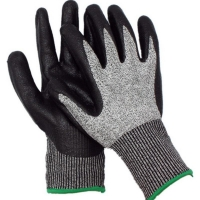Premium Cut 5 Cut Resistant Glove PU Coated Small Size 7 (1 pair)