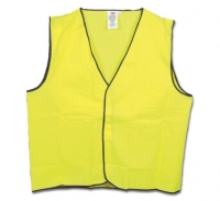 Hi Vis Safety Vest Day Use Yellow Medium (each)
