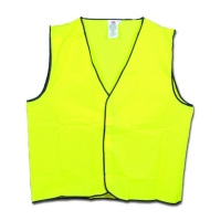 Hi Vis Safety Vest Day Use Yellow 3XLarge (each)
