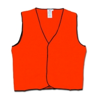 Hi Vis Safety Vest Day Use Orange 2XLarge (each)