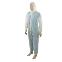 Disposable Polypropylene (PP) Coveralls White Large (Each)