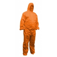 Protectaware SMS Type 5 & 6 Orange Coverall with Hood - Medium (Each)