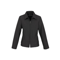 100% Polyester Shell and Lining Studio Jacket Black - Ladies Bust 99cm Waist 81c