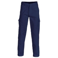 Heavy Drill Cargo Trousers Long Fit Navy 84L (each)