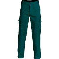 Heavy Drill Cargo Trousers Regular Fit Green 87R (each)
