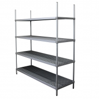 Introductory Offer - Restock Shelving Starter Bay 600mm (D) x 800mm (L)