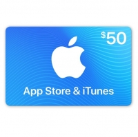 $50 iTunes Gift Card (6700 Loyalty Points)